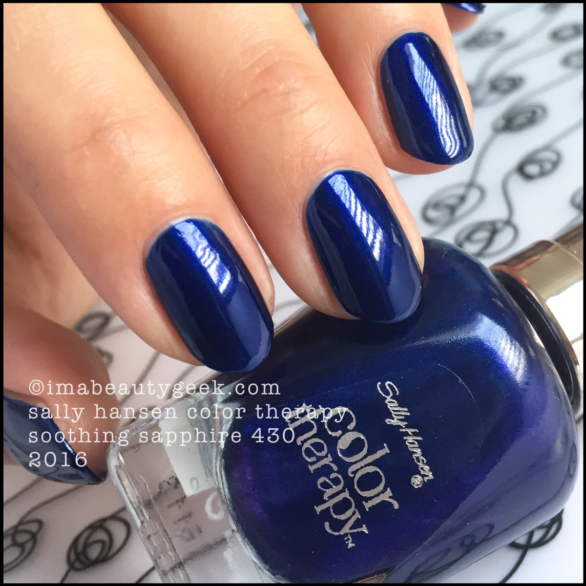 Sally Hansen Color Therapy Soothing Sapphire 430_Sally Hansen Color Therapy Review Swatches