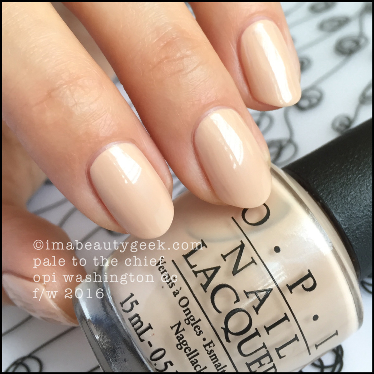 OPI Pale to the Chief_OPI Washington DC 2016 Swatches Review