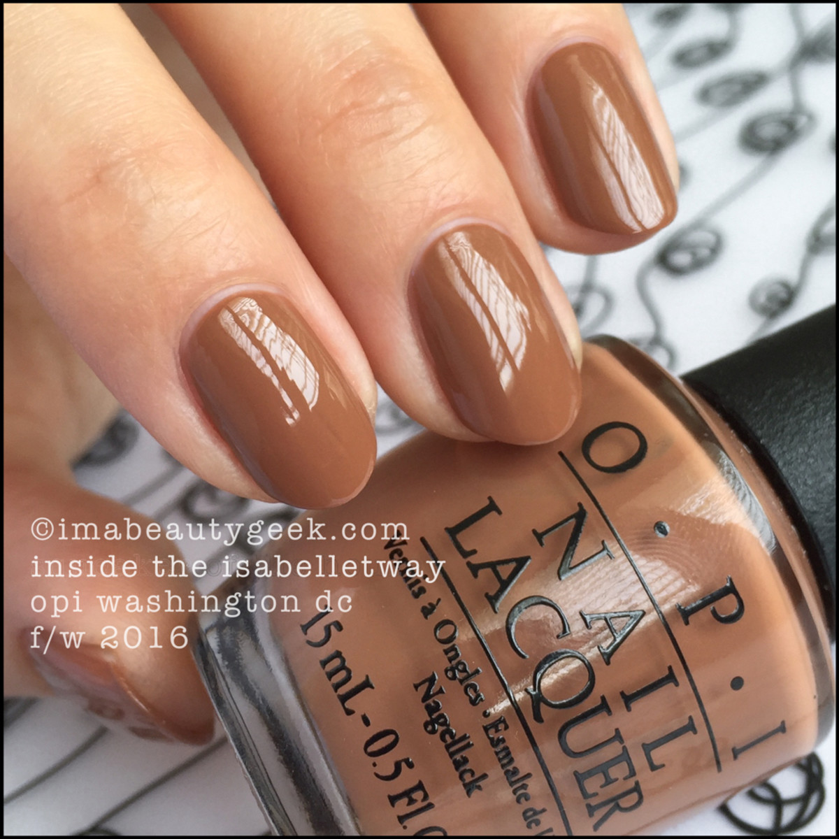 OPI Inside The Isabelletway_OPI Washington DC Collection Swatches Review Comprarisons
