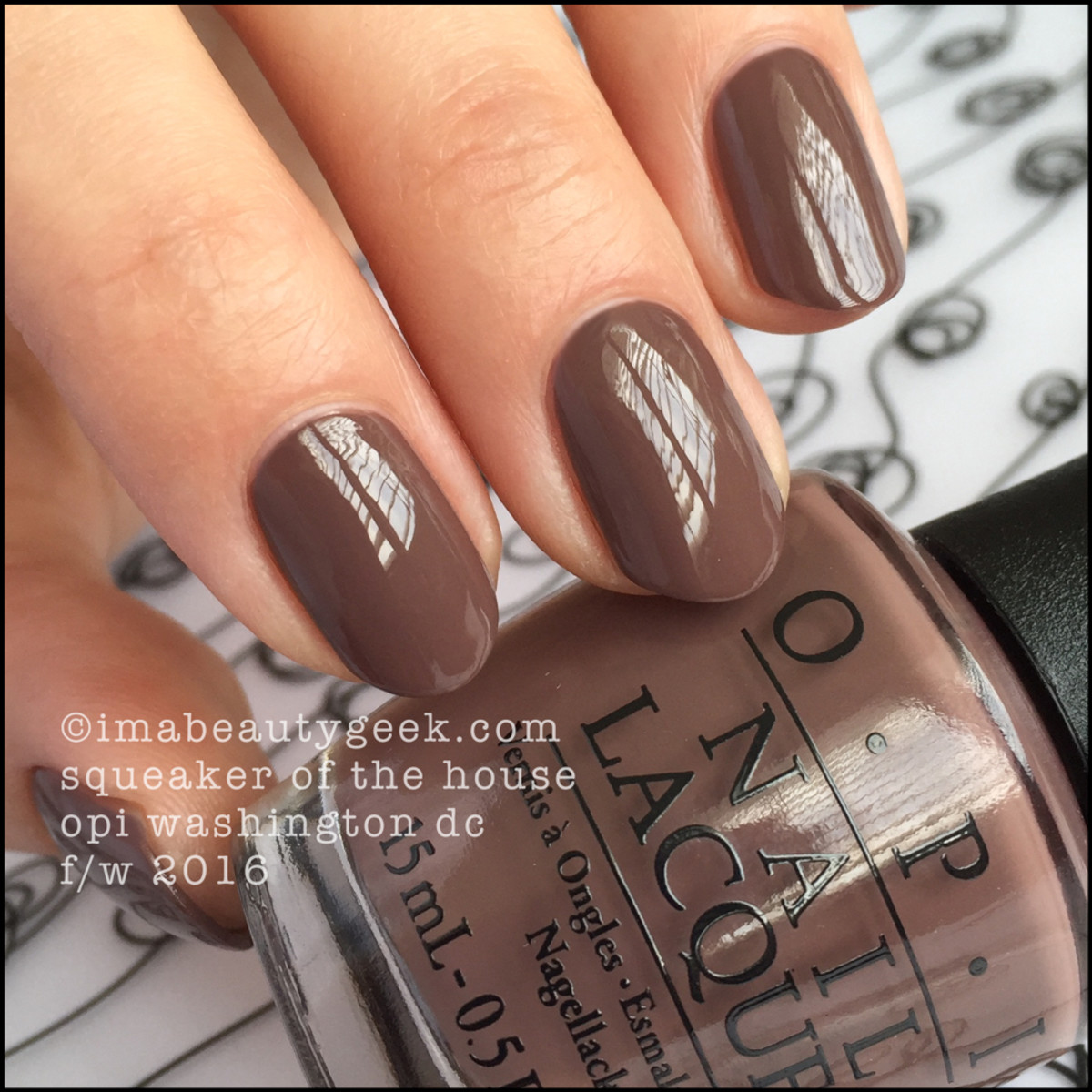 OPI Squeaker of the House_OPI Washington DC 2016 Swatches Review