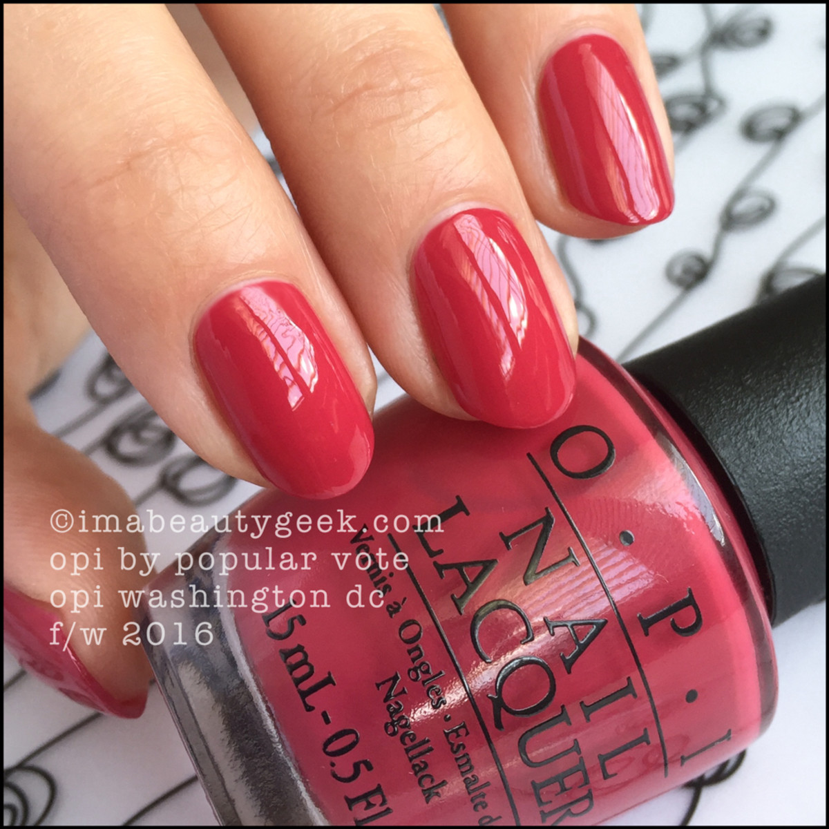 OPI By Popular Vote_OPI Washington DC Fall Winter 2016 Collection Swatches Review