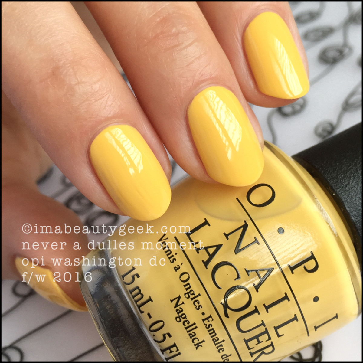 OPI Never a Dulles Moment_OPI Washington DC Swatches Review Comparisons