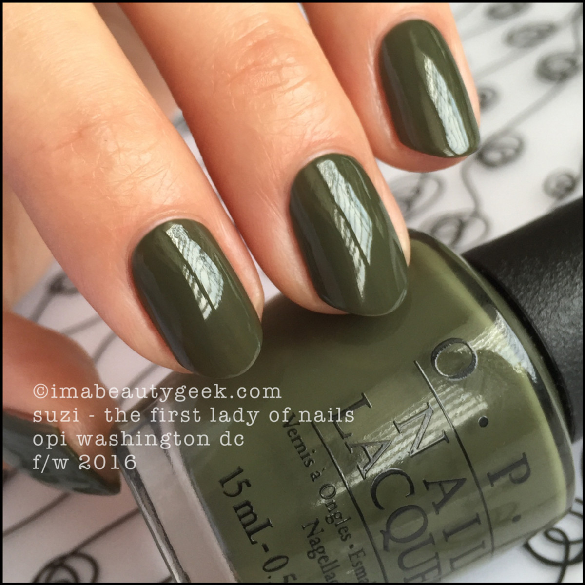 OPI Suzi The First Lady of Nails_OPI Washington DC Collection Swatches Review Comparisons
