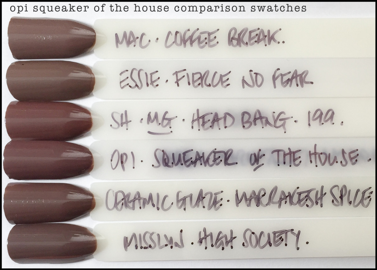 OPI Squeaker of the House Comparison Swatches Dupes_OPI Washington DC 2016 Kerry Washington