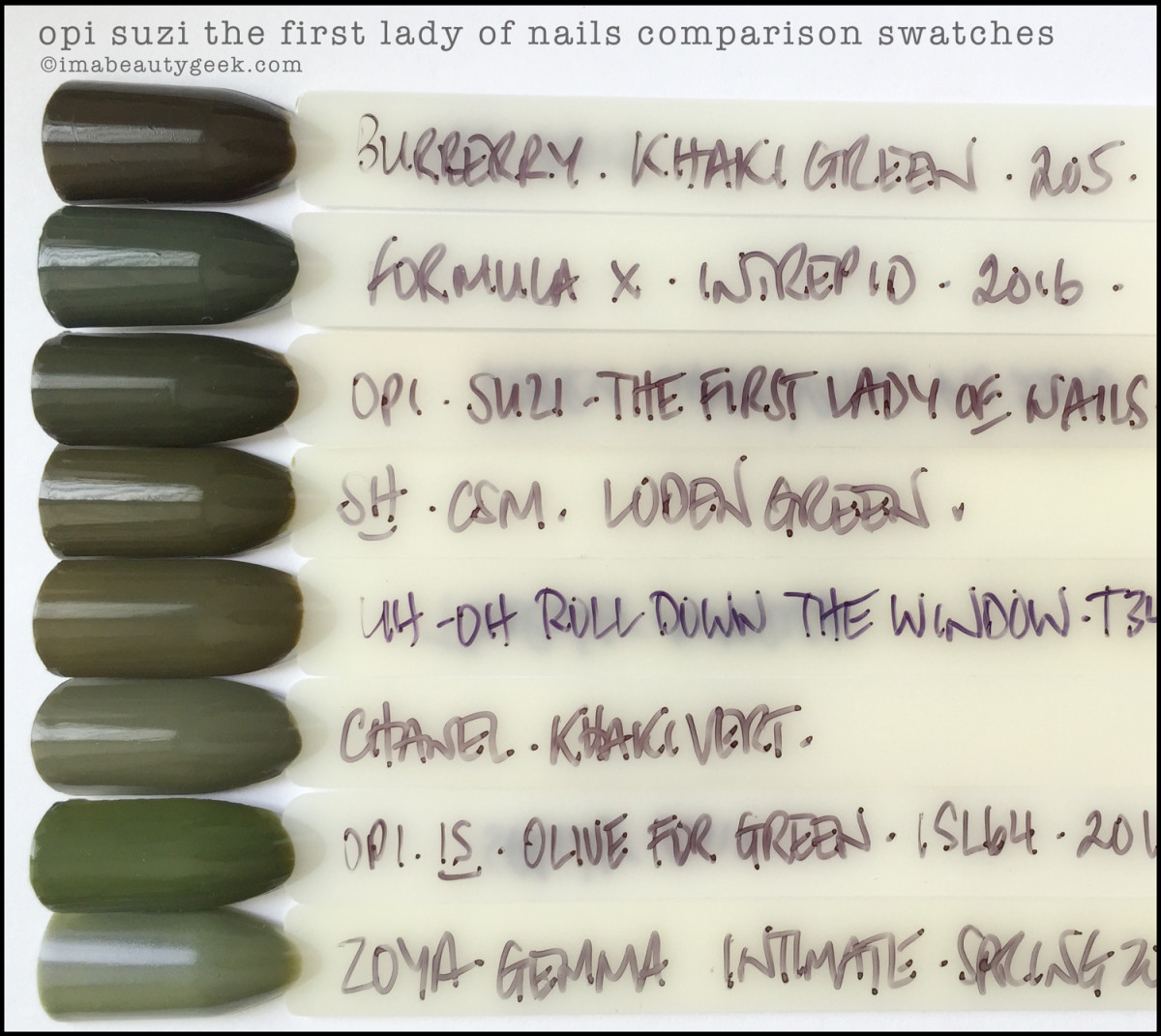 OPI Suzi the First Lady of Nails Comparison Swatch Dupe_OPI Washington DC Collection 2016