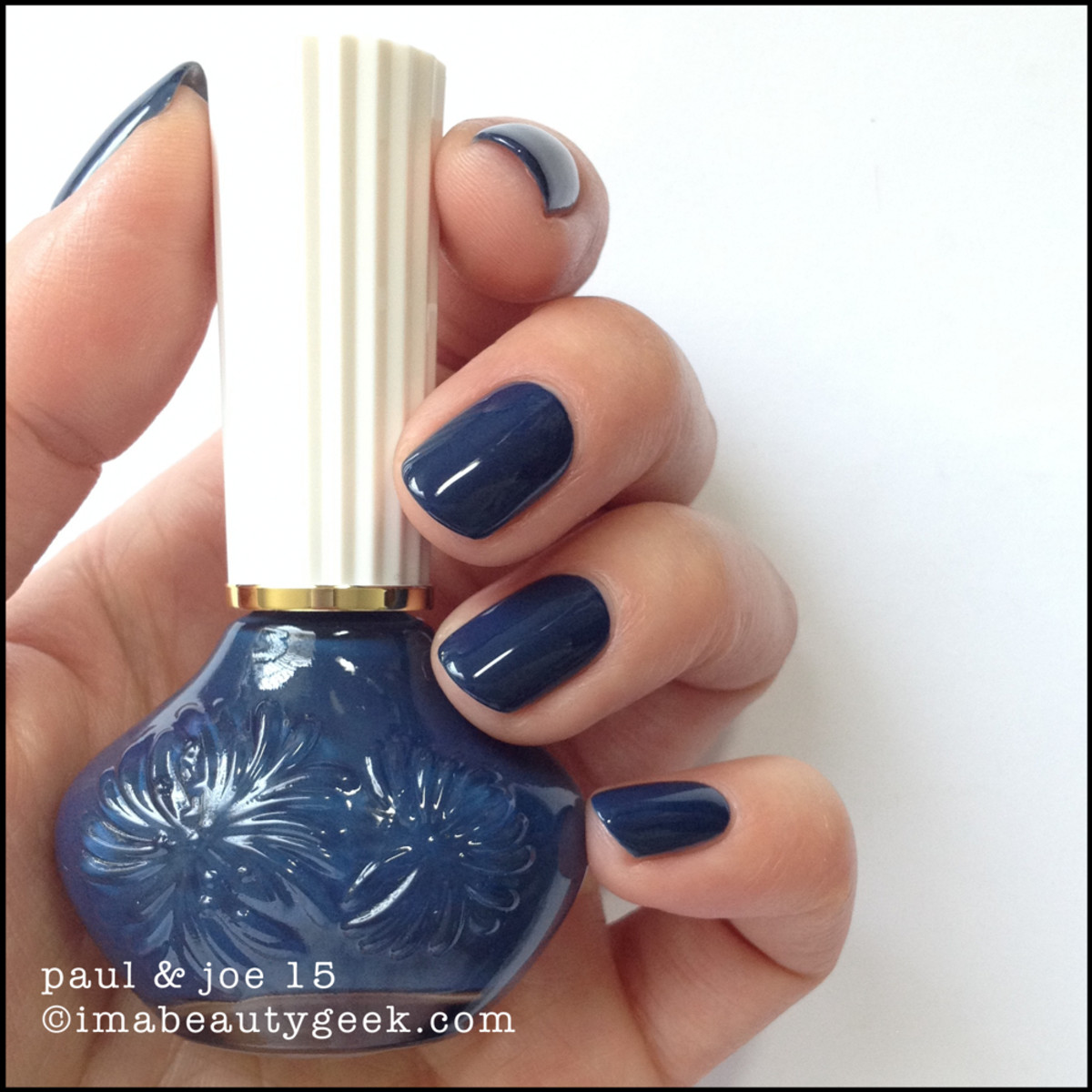 Paul & Joe Nail Polish 15 Indigo Blues