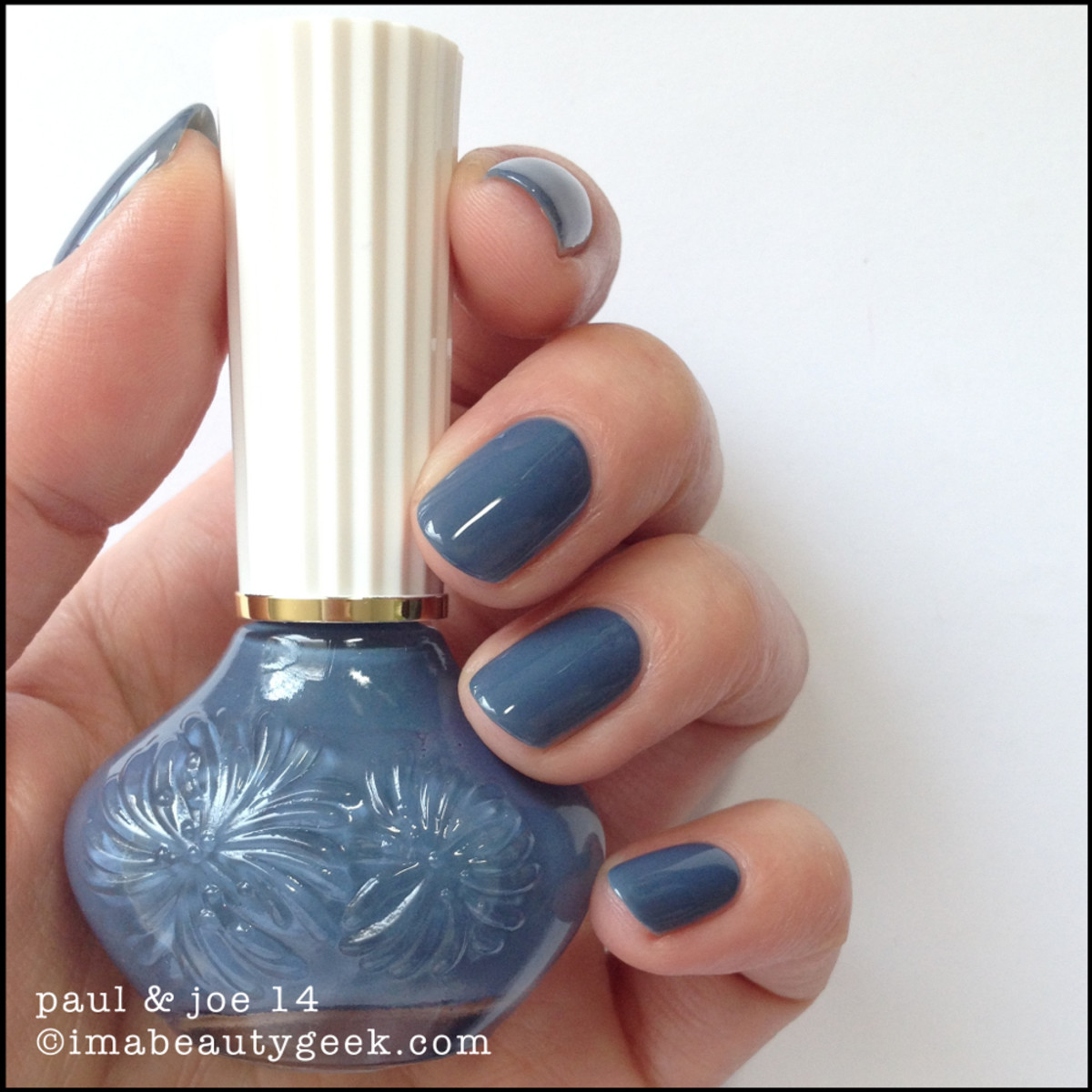 Paul & Joe Nail Polish 14 Blue Jeans