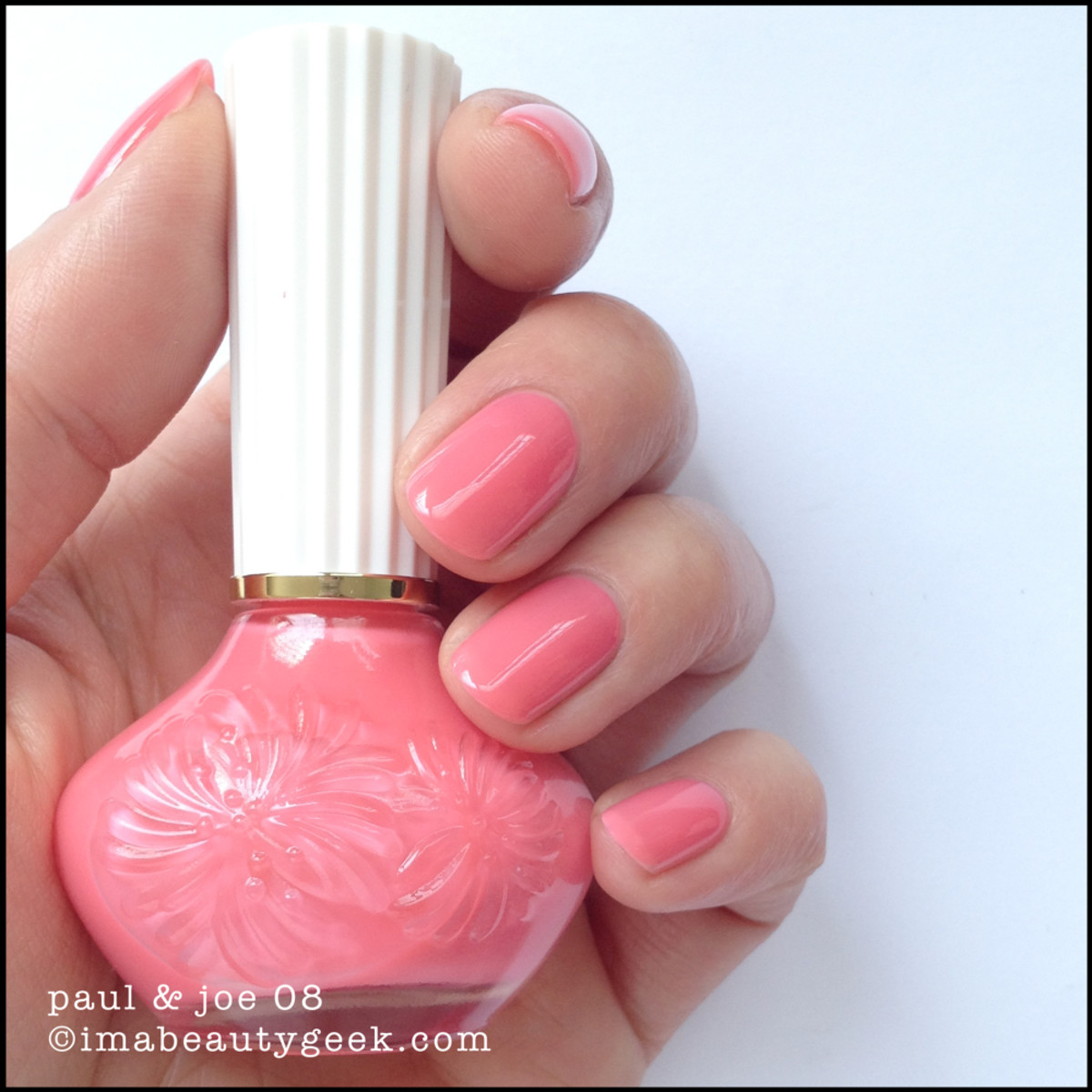 Paul & Joe Nail Polish 08 Flamingo Pink