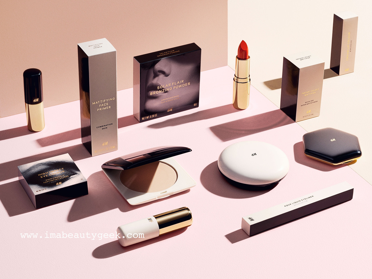 H&M Beauty makeup collection