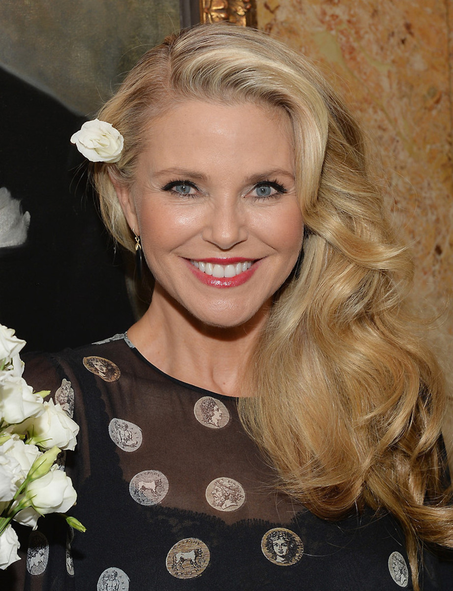 Christie Brinkley skincare_April 2014