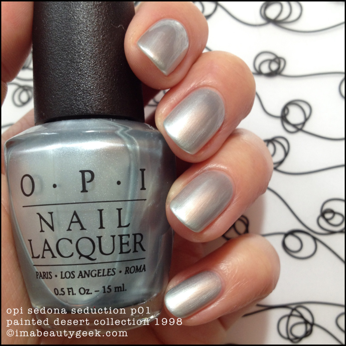 OPI Sedona Seduction NL P01 Painted Desert Collection 1998