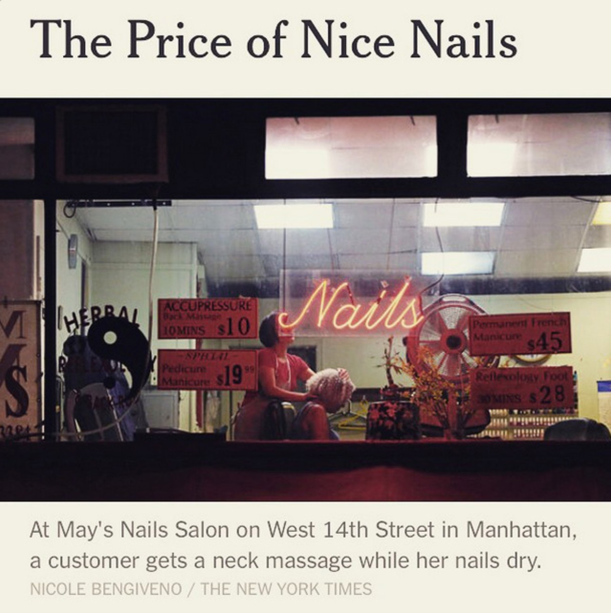 NYC nail salon expose_new york times the price of nice nails