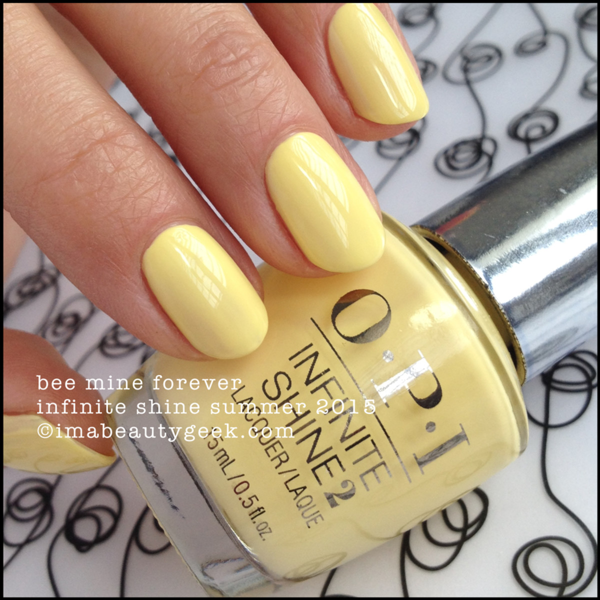 OPI Infinite Shine Bee MIne Forever Summer 2015