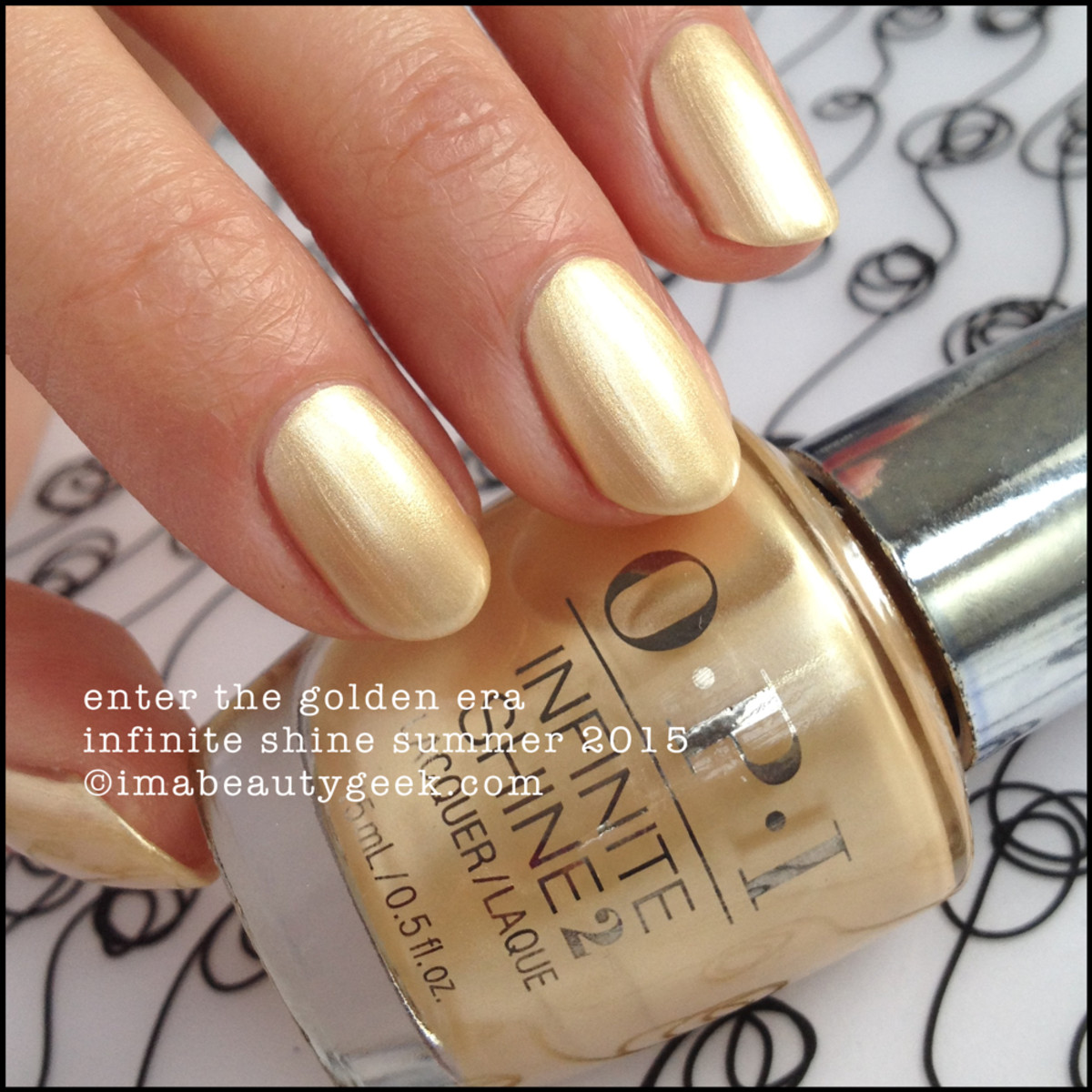 OPI Infinite Shine OPI Enter the Golden Era