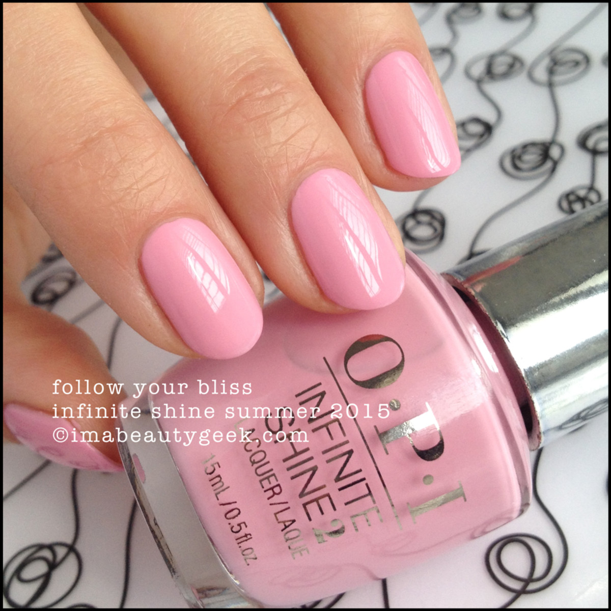 OPI Infinite Shine OPI Follow Your Bliss