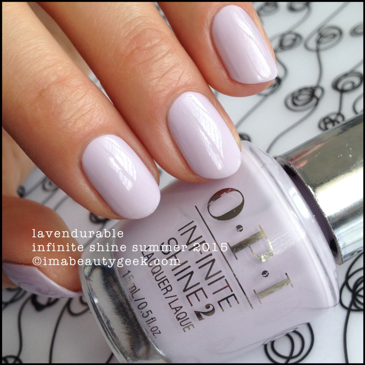 OPI Infinite Shine OPI Lavendurable Summer 2015