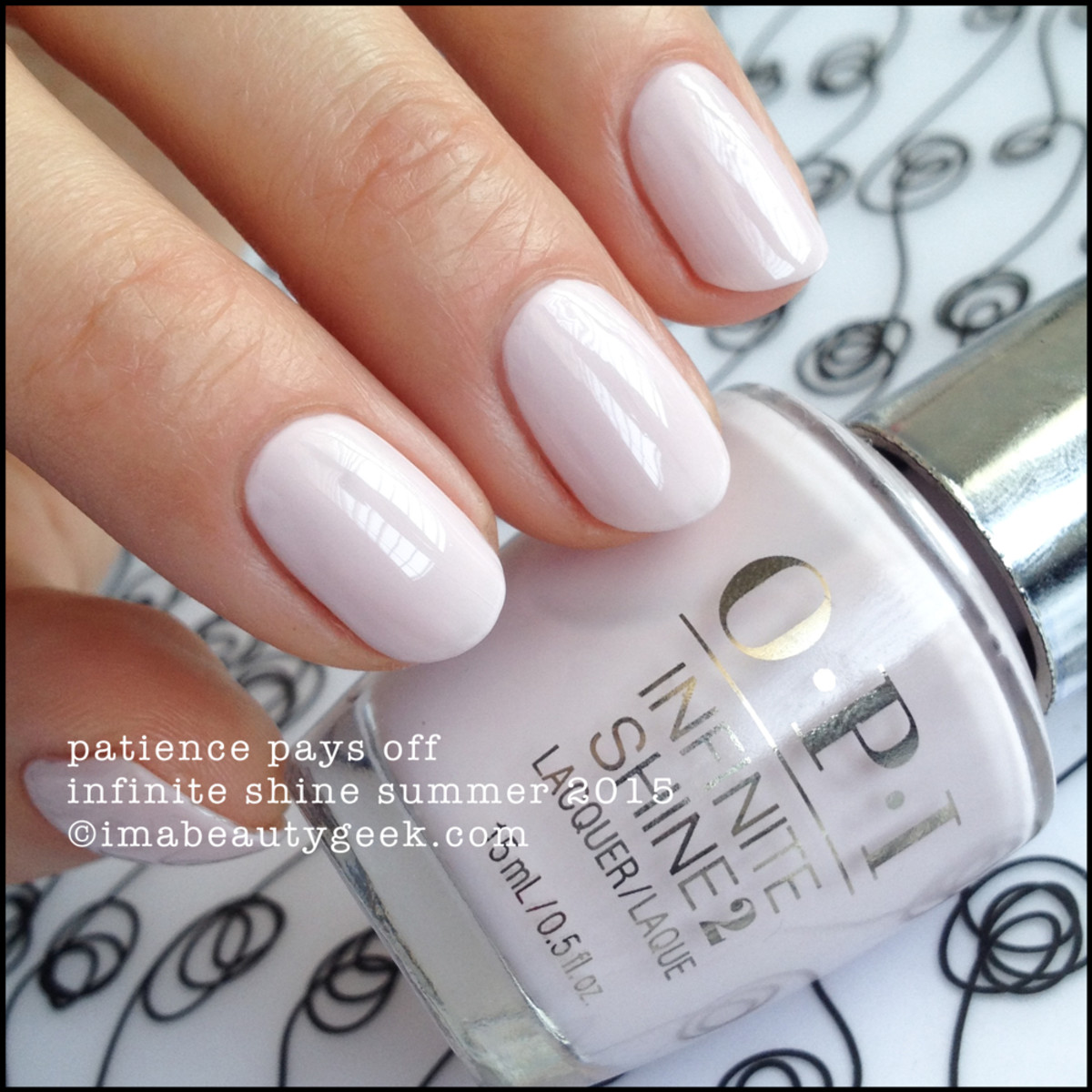 OPI Infinite Shine OPI Patience Pays Off Summer 2015