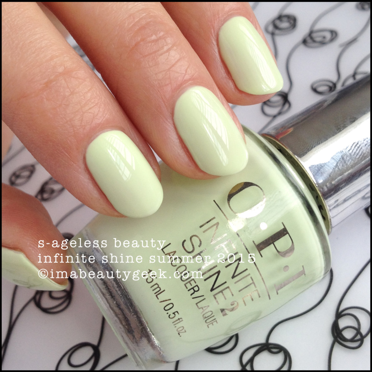 OPI Infinite Shine OPI Sageless Beauty Summer 2015