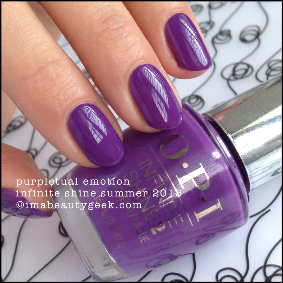 OPI Infinite Shine OPI Purpletual Emotion Summer 2015