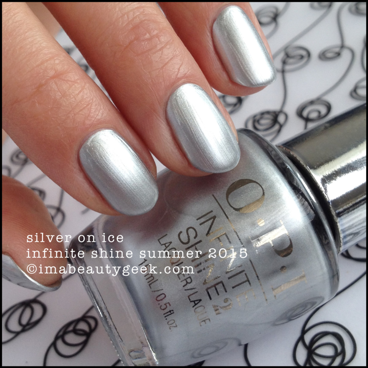 OPI Infinite Shine OPI Silver on Ice Summer 2015
