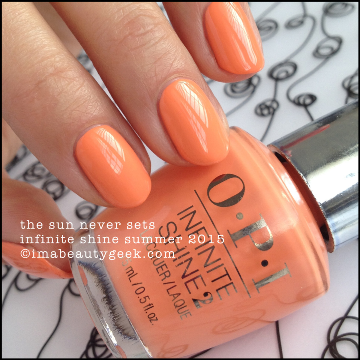 OPI Infinite Shine OPI The Sun Never Sets Summer 2015