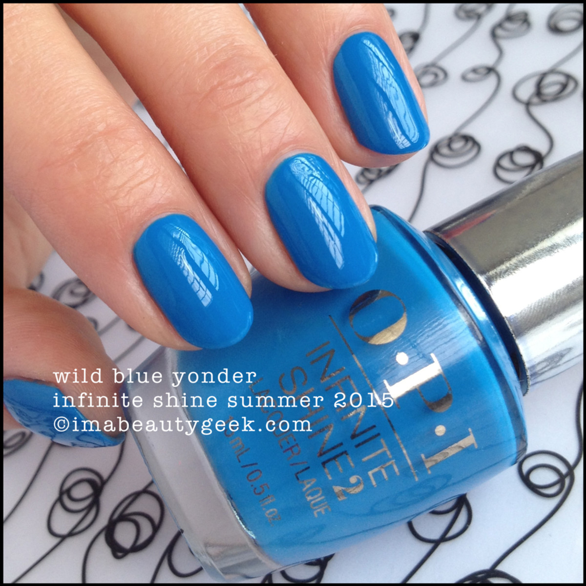 OPI Infinite Shine OPI Wild Blue Yonder Summer 2015