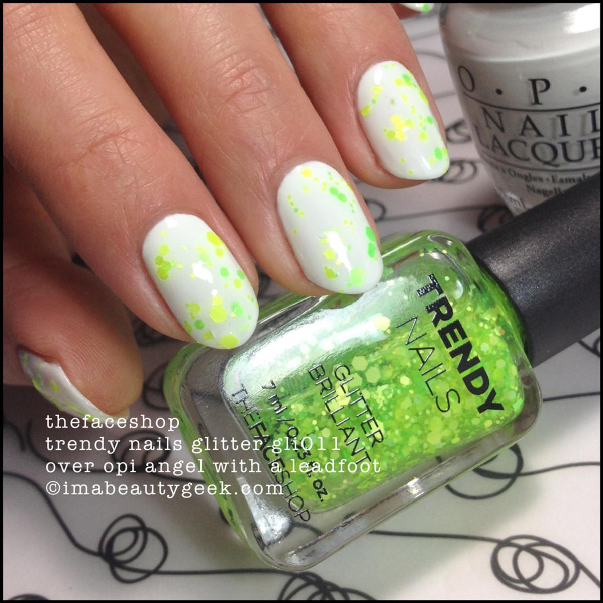 TheFaceShop Trendy Nails GLI011 Glitter Nail Polish