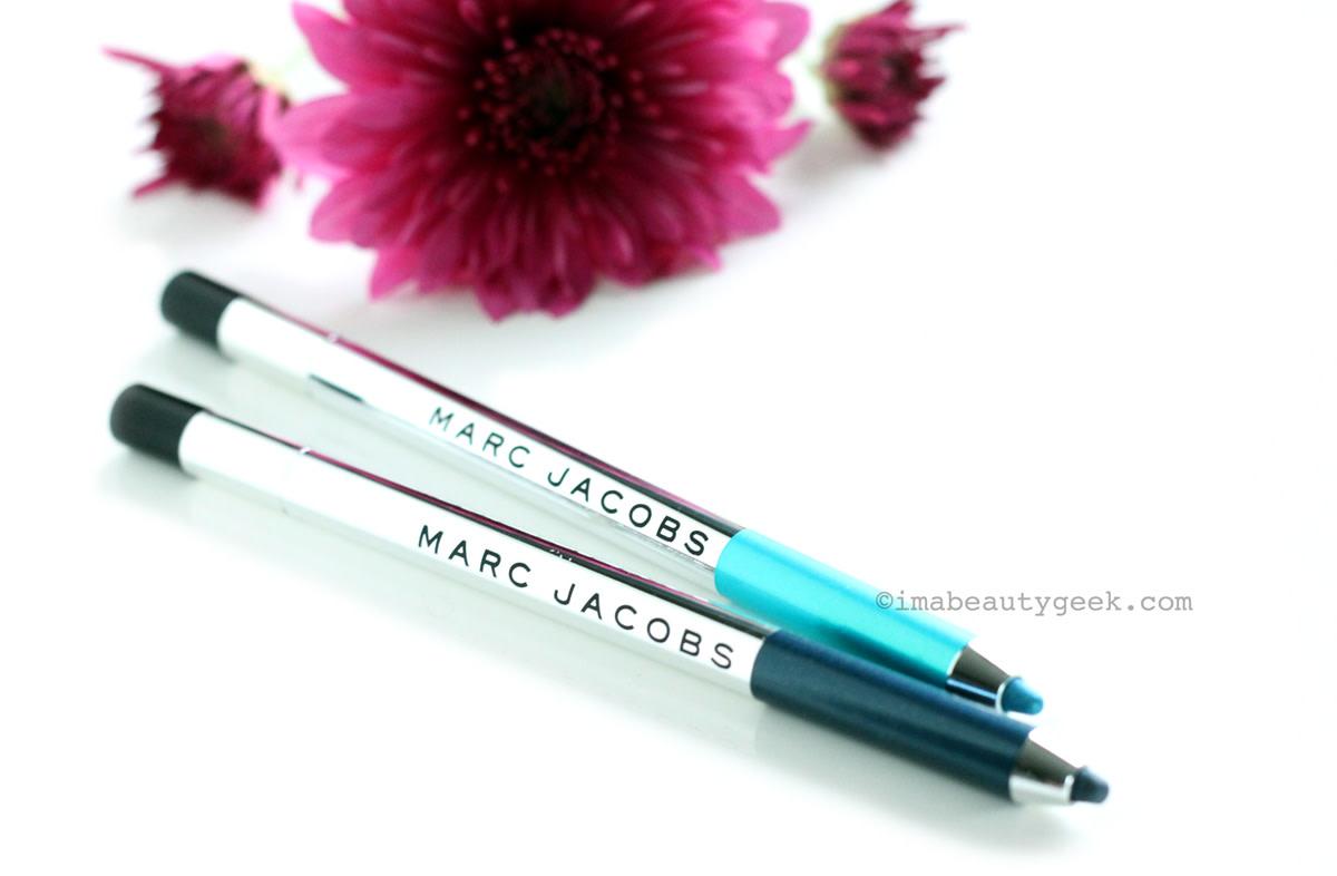 Best waterproof eyeliners: Marc Jacobs Highliner Gel Eye Crayon (says waterproof on the box)