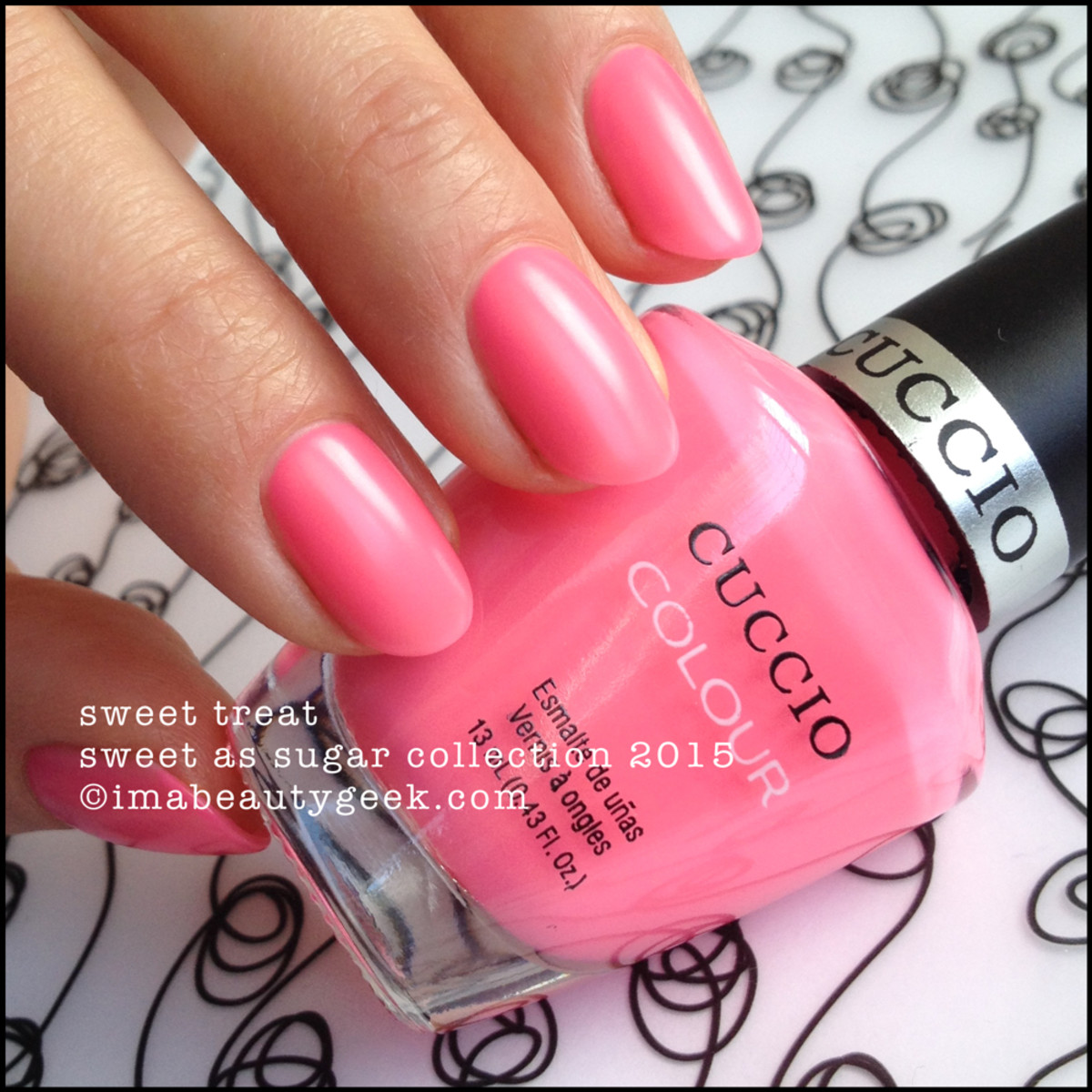 Cuccio Colour Nail Polish Sweet Treat Sweet as Sugar Collection 2015