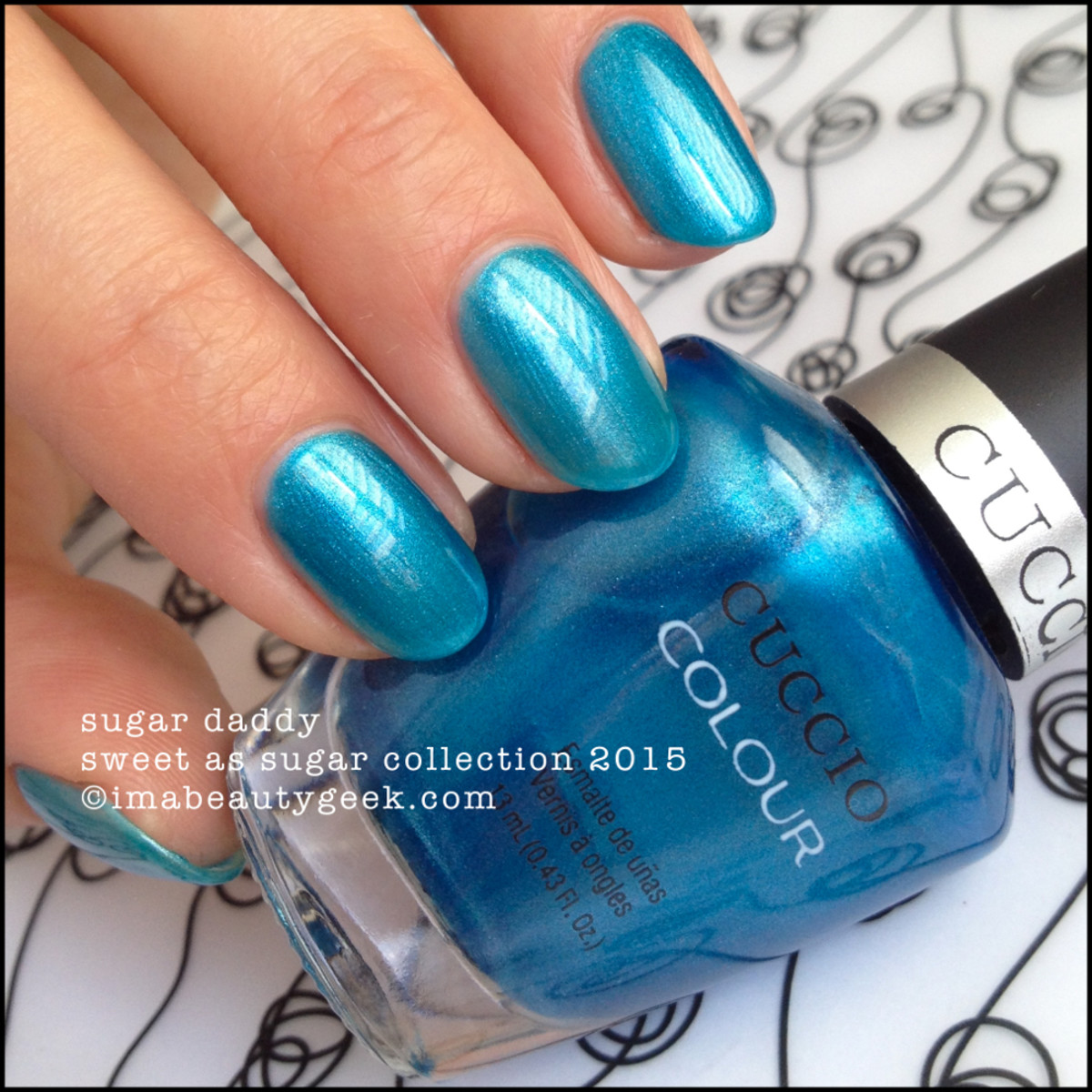 Cuccio Colour Nail Polish Sugar Daddy Sweet as Sugar Collection 2015
