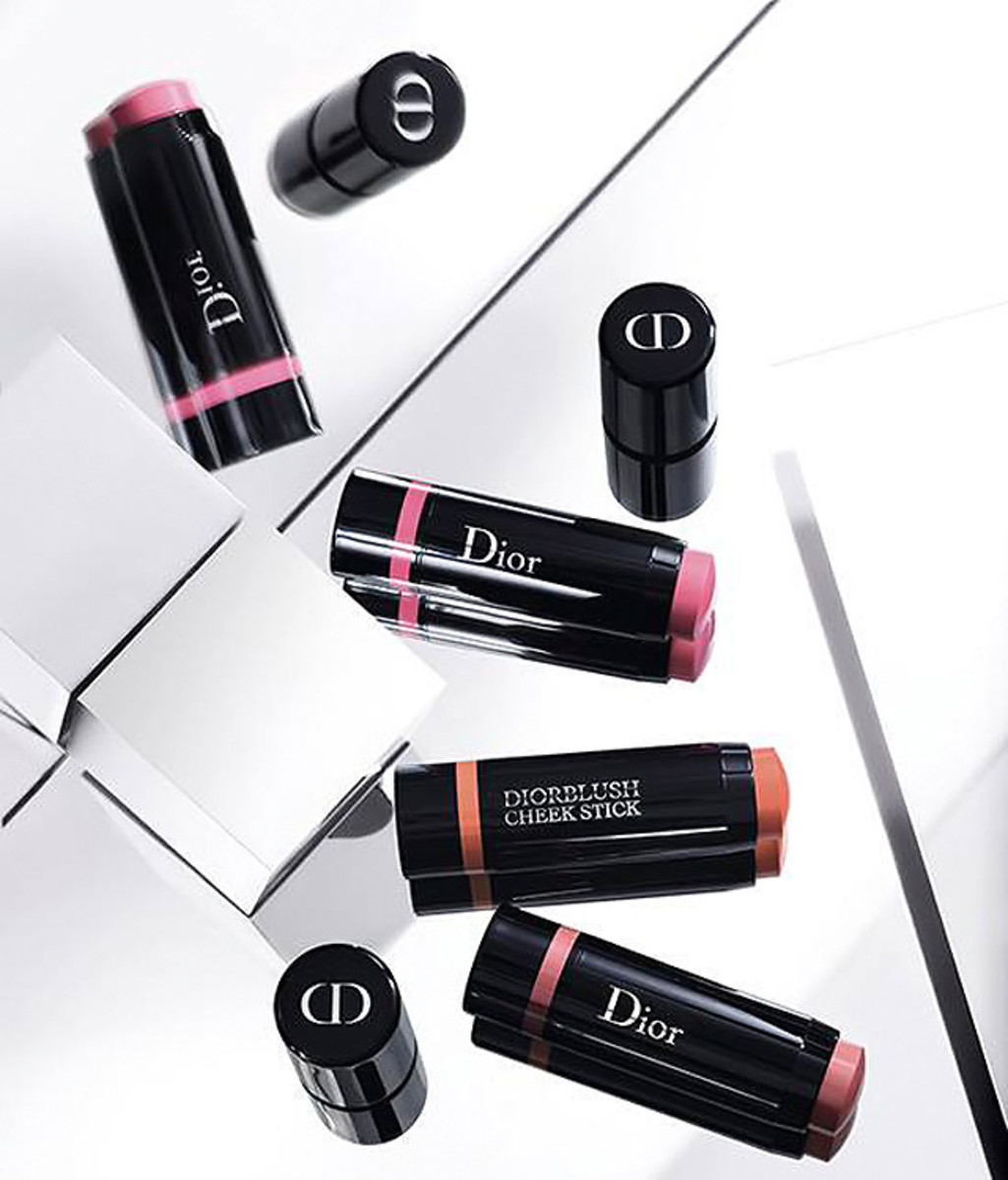 Dior Cosmopolite Fall 2015 makeup collection Cheek Sticks in three creamy shades
