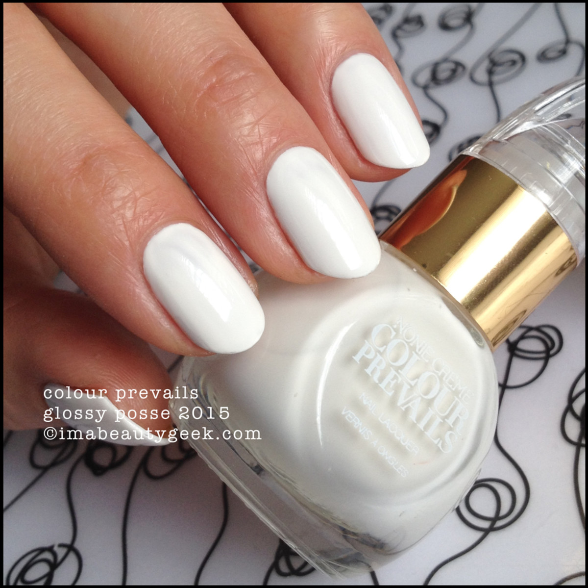 Colour Prevails Glossy Posse Nail Polish by Nonie Creme