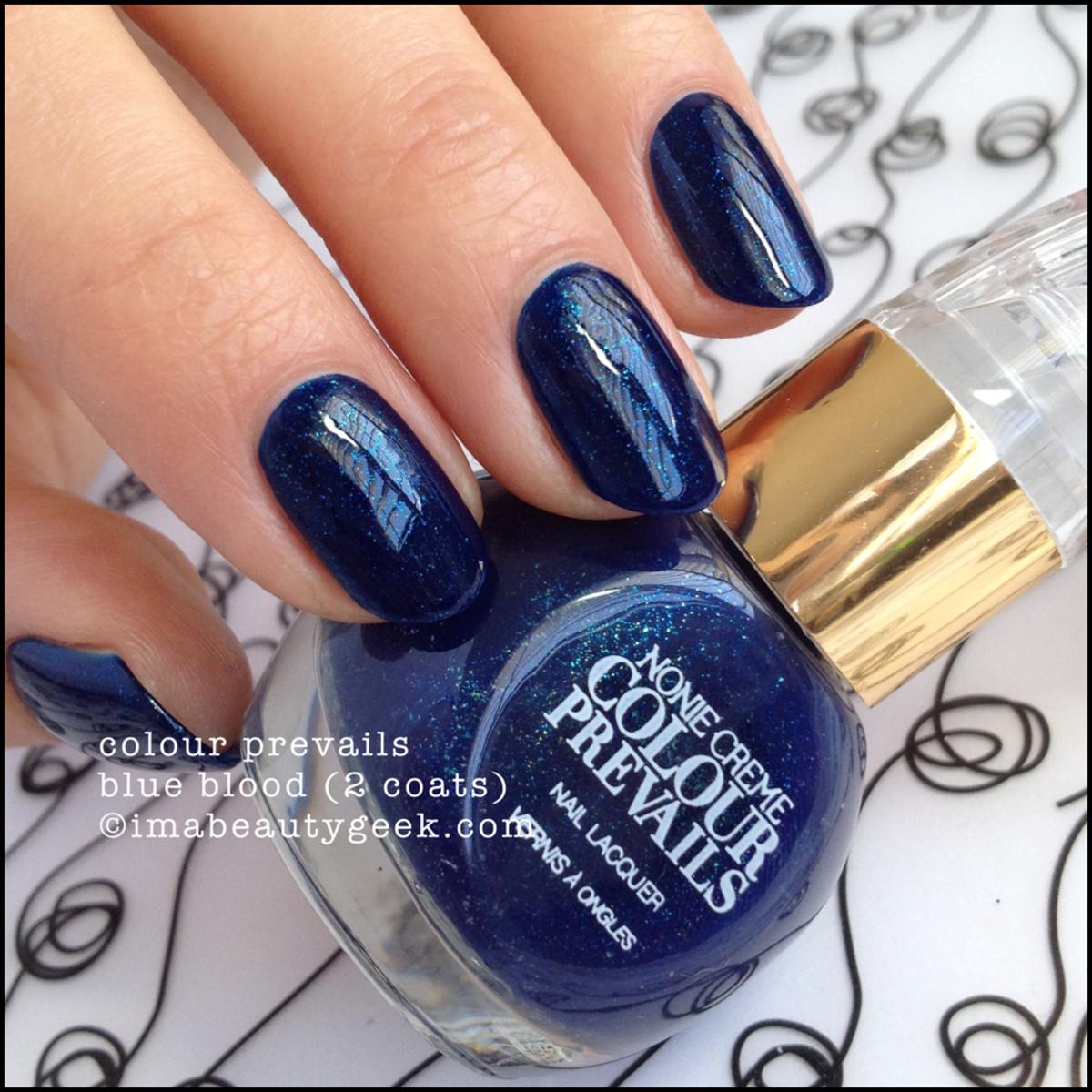 Colour Prevails Blue Blood by Nonie Creme