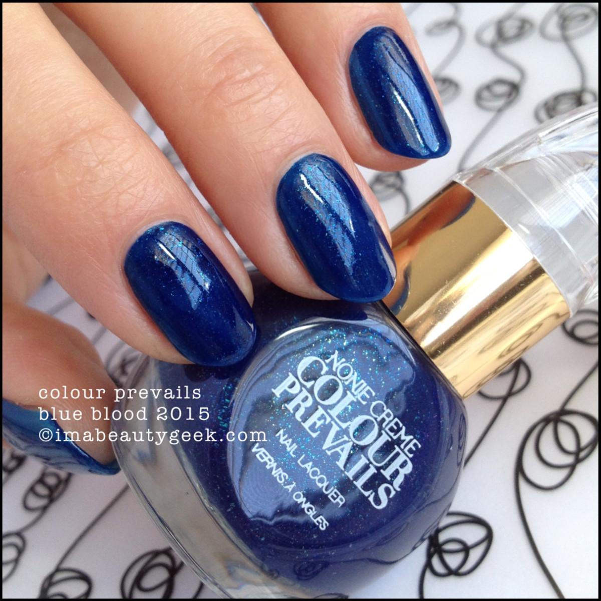 Colour Prevails Blue Blood 1 coat