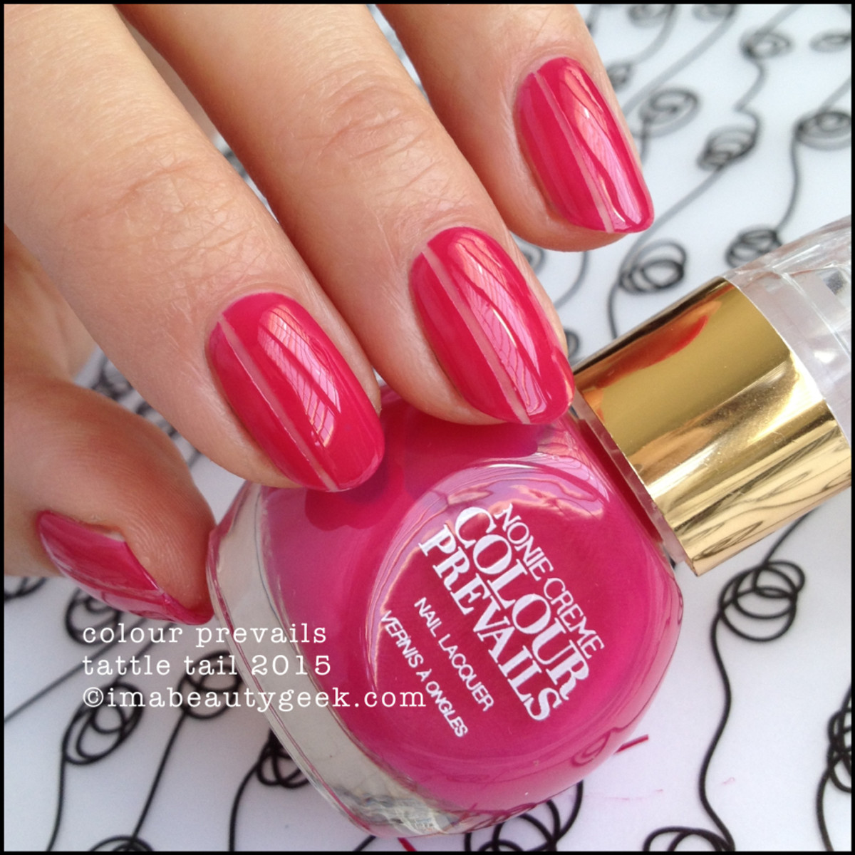 Colour Prevails Tattle Tail nail polish by Nonie Creme