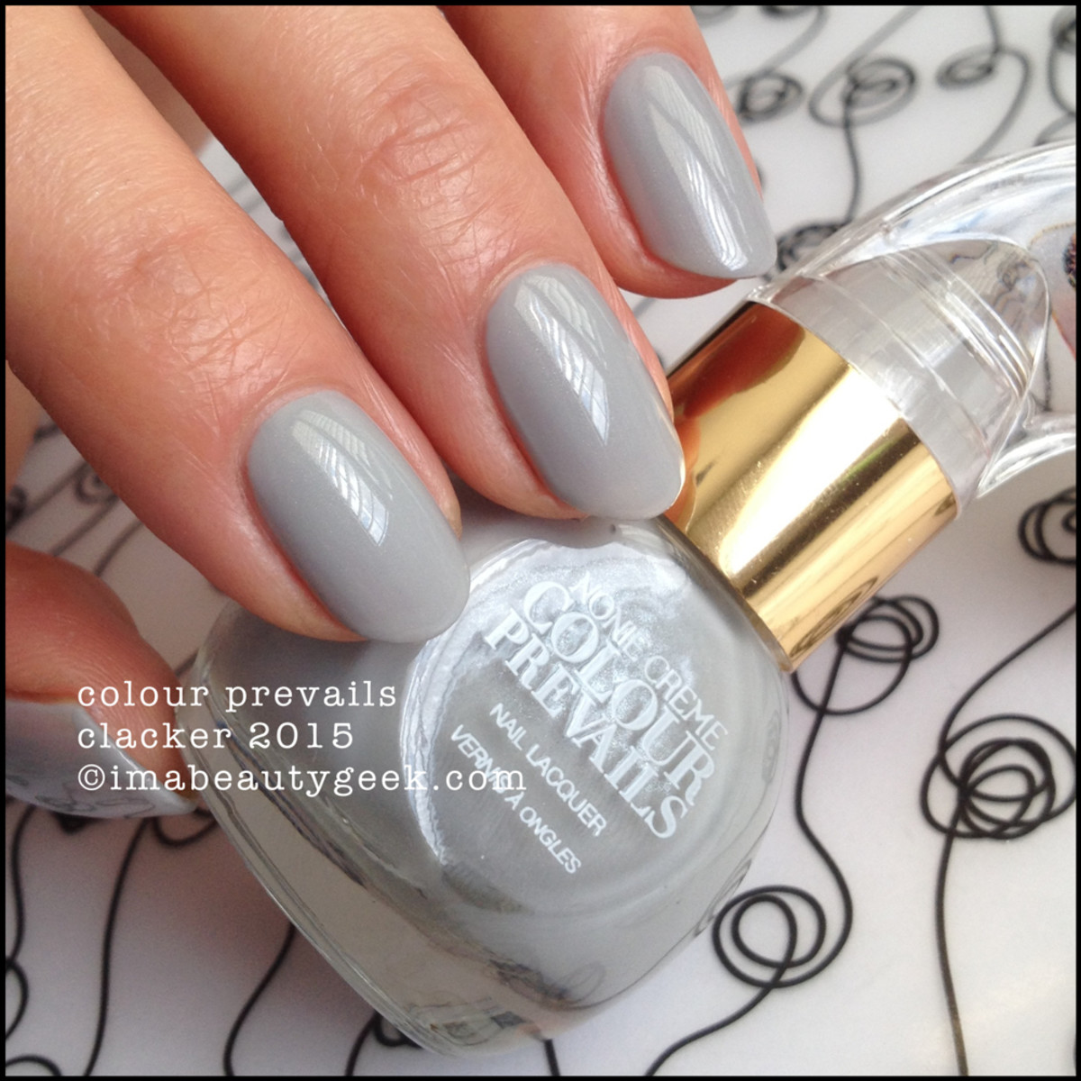 Colour Prevails Clacker Nail Polish by Nonie Creme