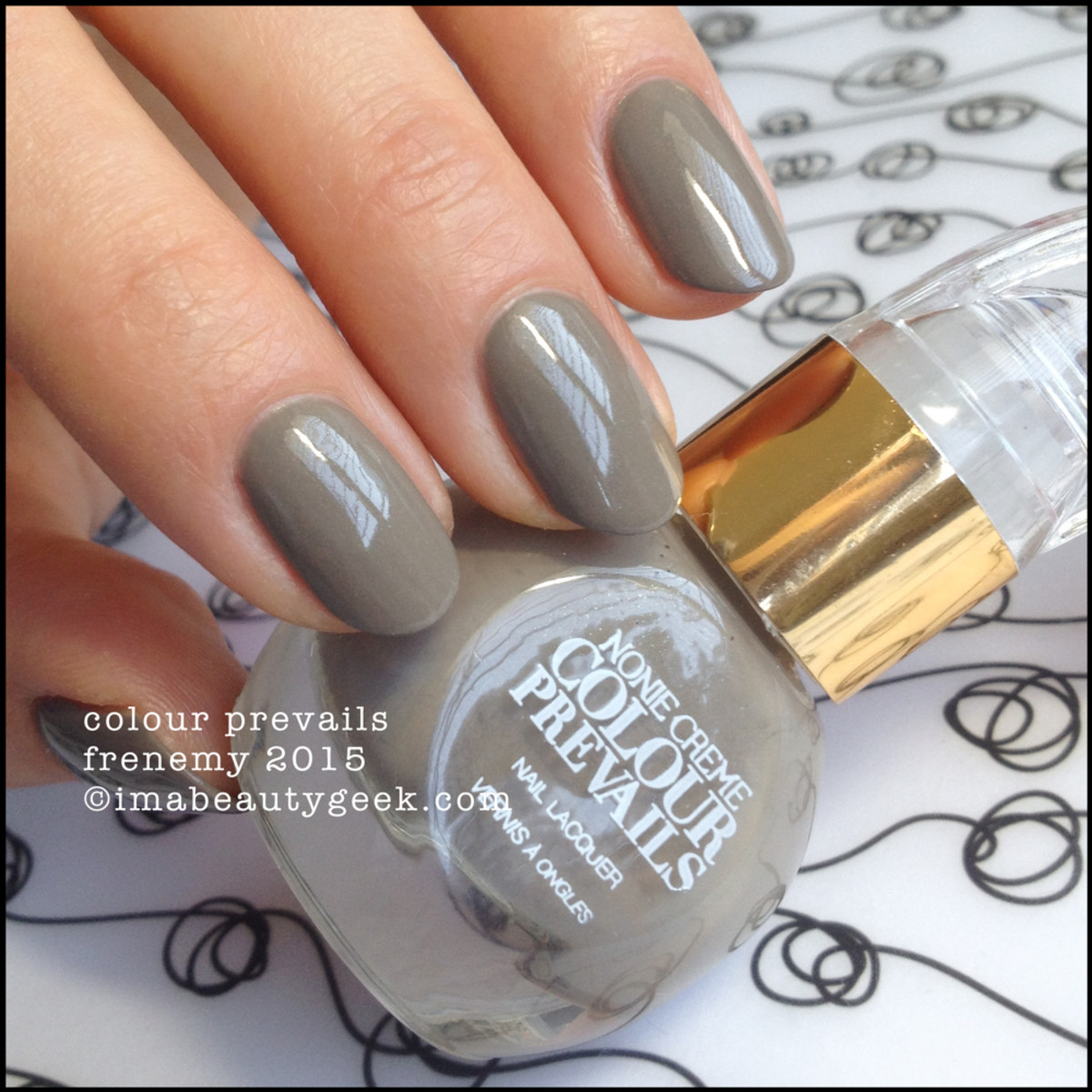 Colour Prevails Frenemy Nail Polish by Nonie Creme