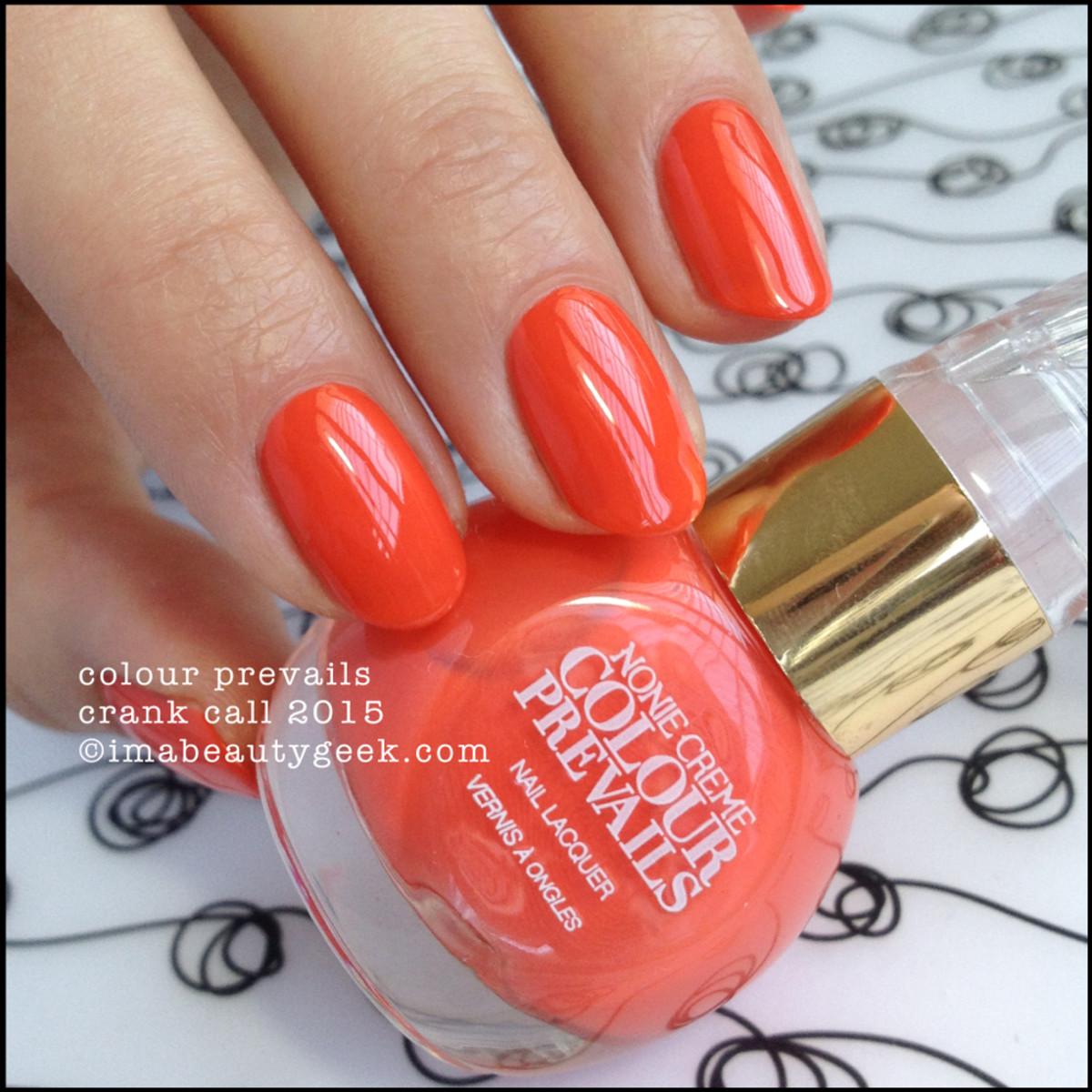 Colour Prevails Crank Call Nail Polish by Nonie Creme