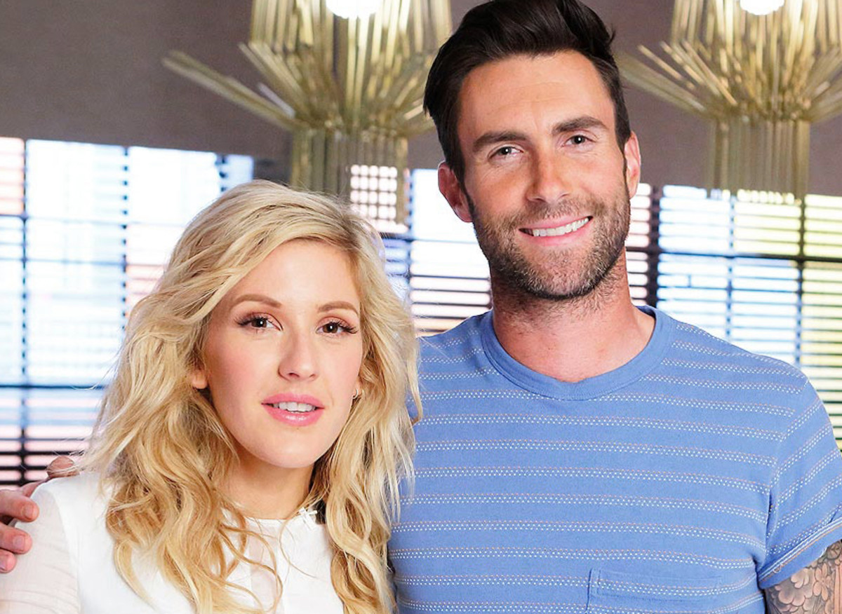 mac ellie goulding_ellie goulding the voice adam levine