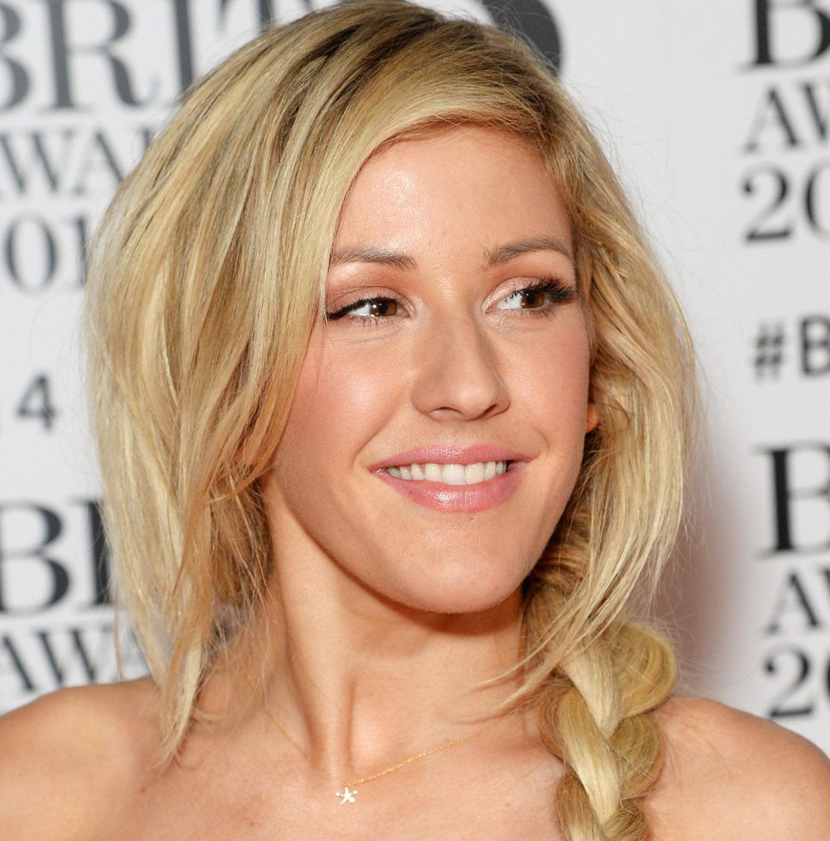 mac ellie goulding_ellie at the brit awards 2014