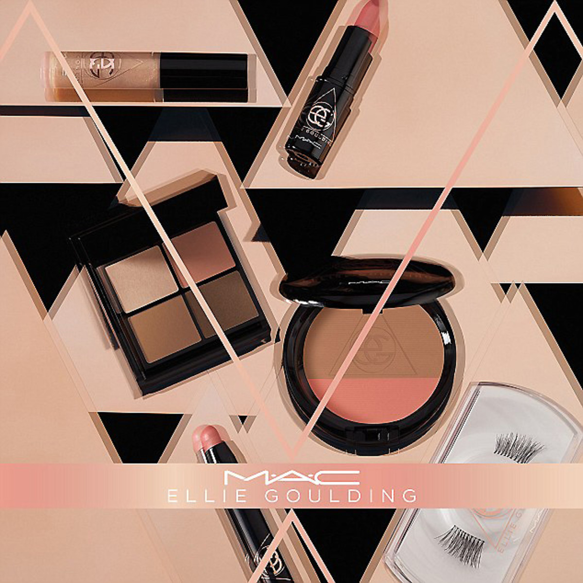 mac ellie goulding_makeup