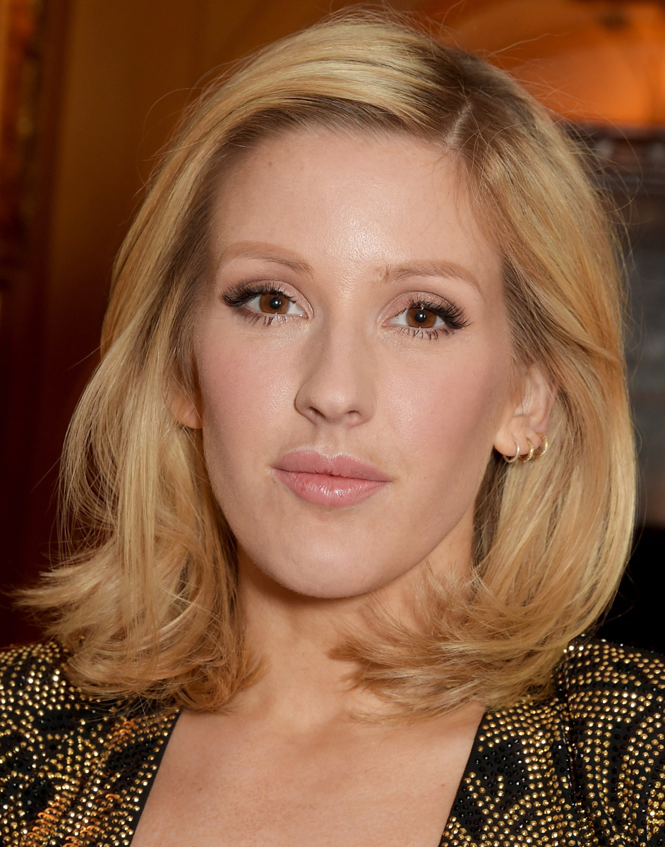 mac ellie goulding_singer debuts shorter haircut at a balmain dinner, 2015