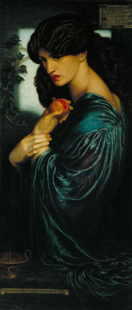 Rosetti's Goddess 1874