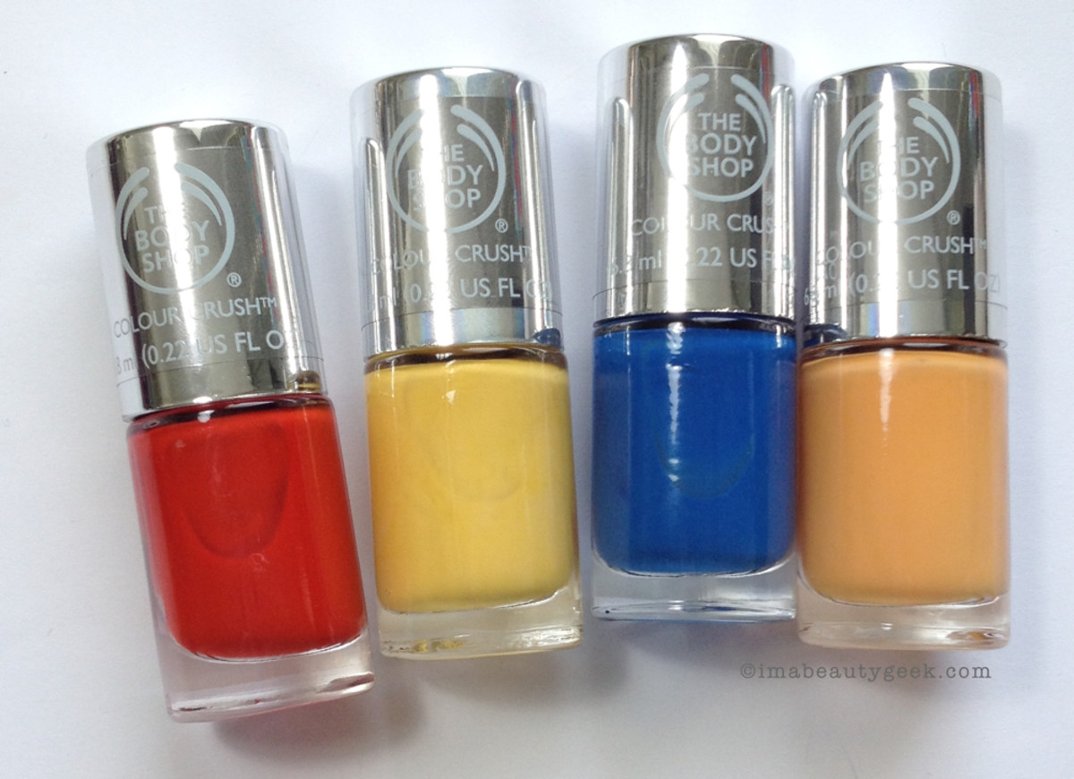 The Body Shop Colour Crush Nail Polish