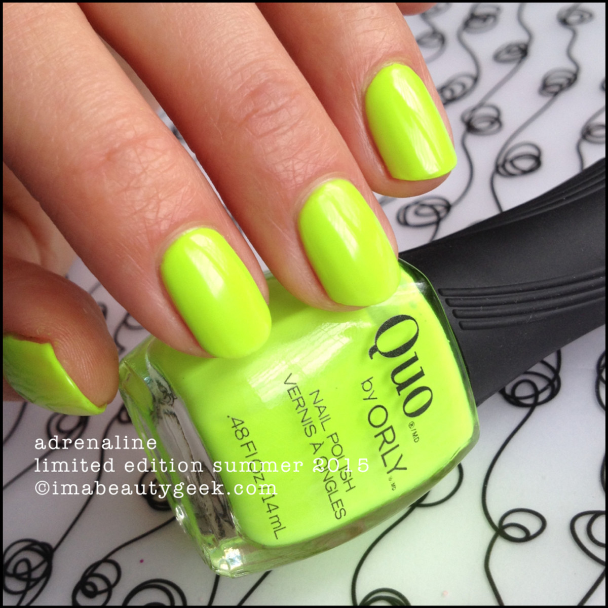 Quo by Orly Adrenaline - Orly Thrill Seeker Summer 2015