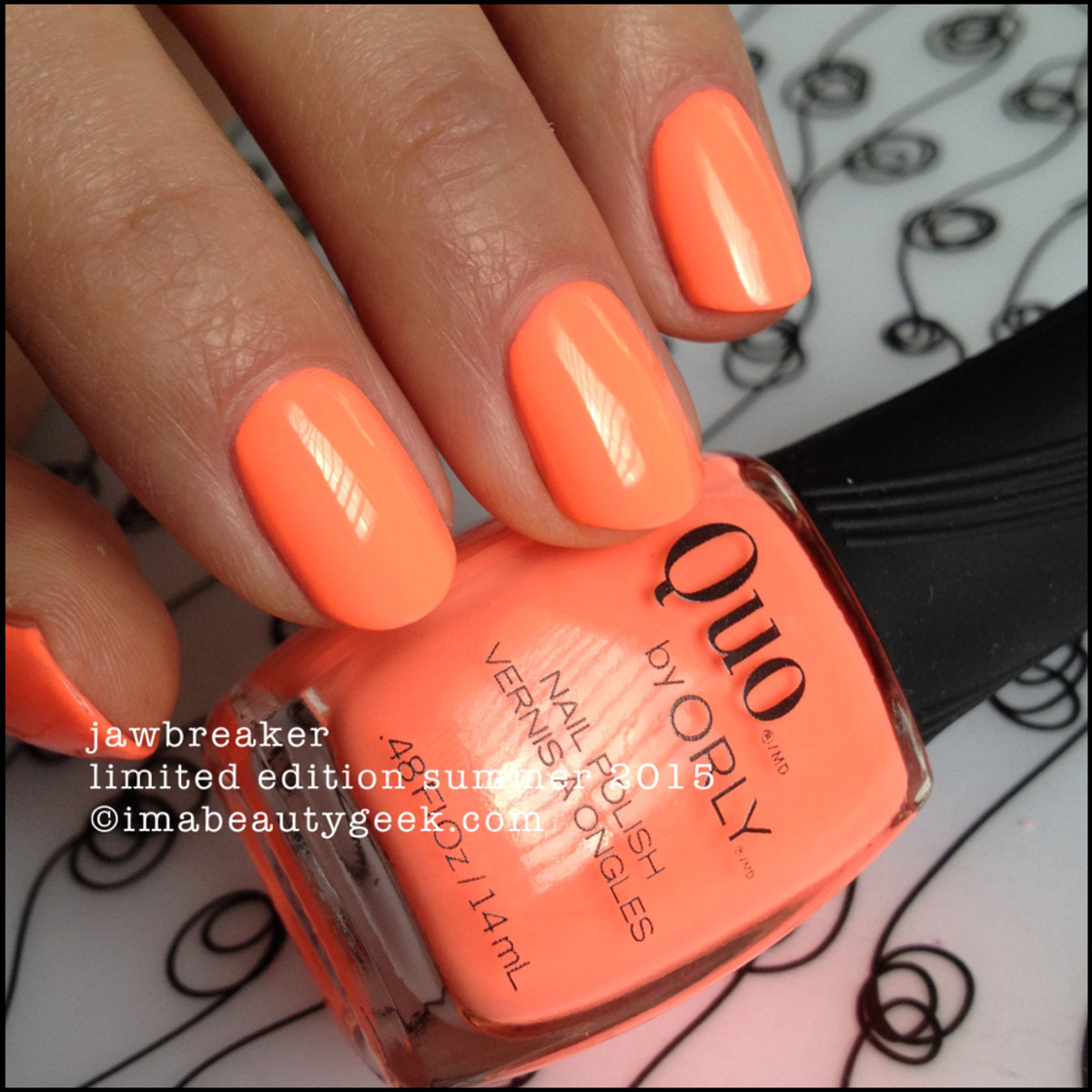 Quo By Orly Jawbreaker - Orly Push the Limit Summer 2015