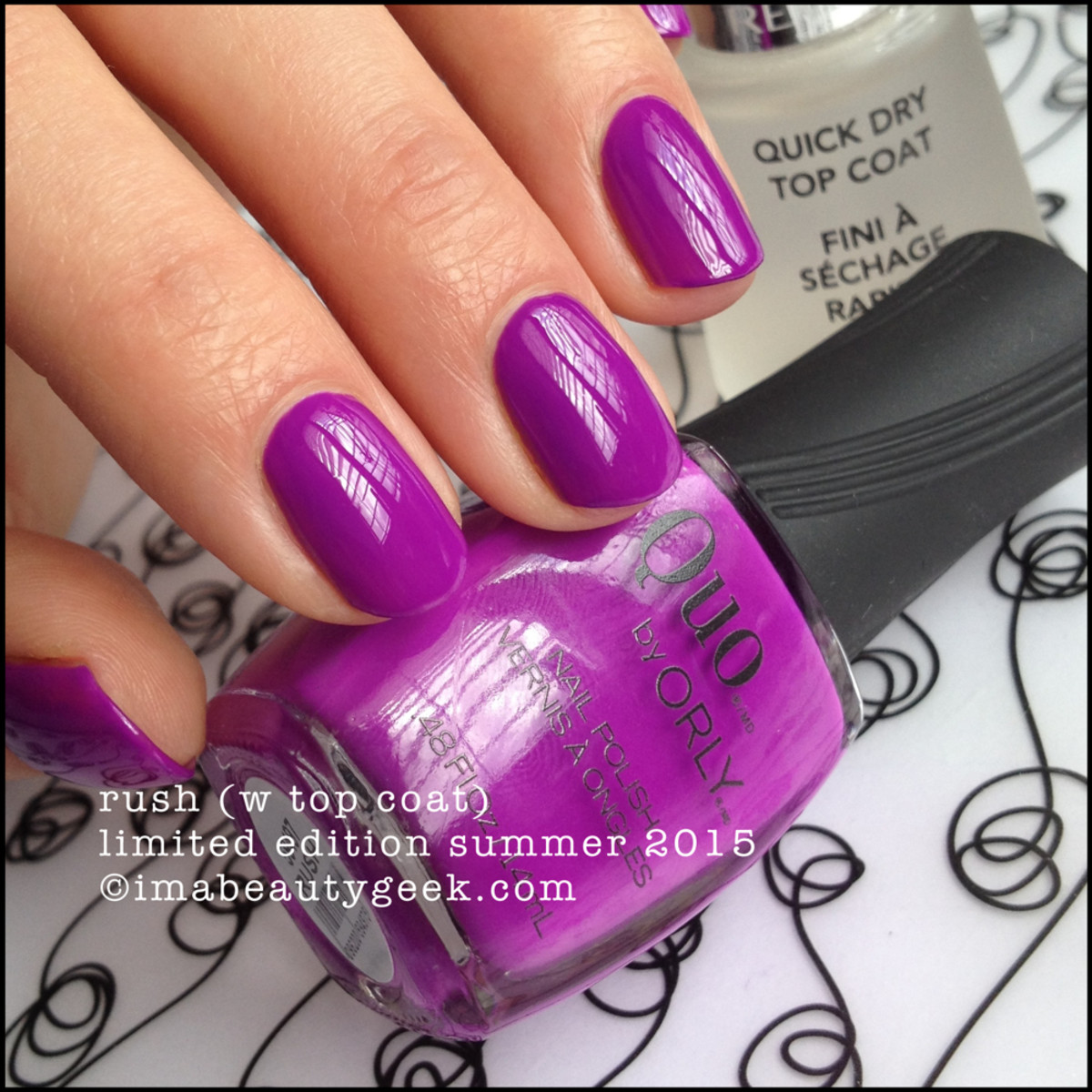 Quo by Orly Rush aka Orly Be Daring Summer 2015