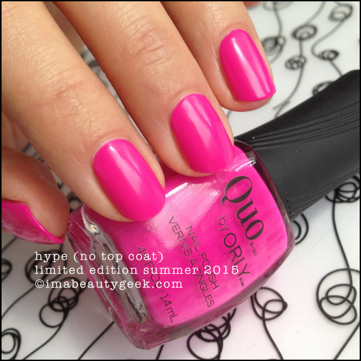 Quo by Orly Hype - Quo Risky Behavior Summer 2015