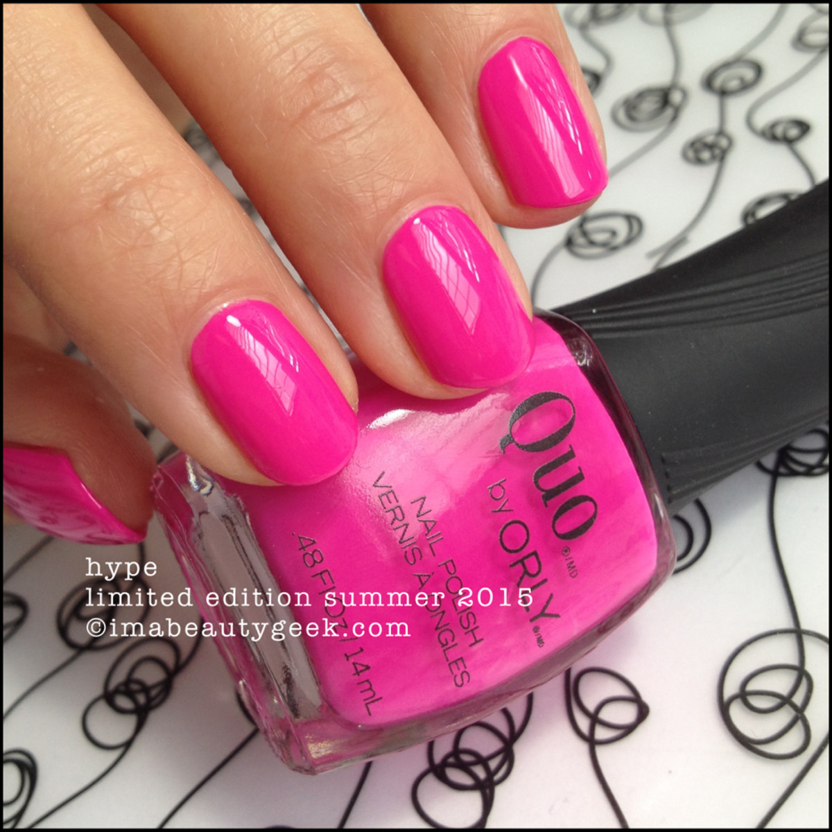 Quo by Orly Hype Orly Risky Behavior Summer 2015