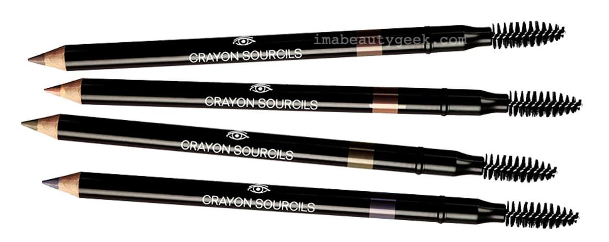 Chanel Crayon Sourcils Sculpting Eyebrow Pencils